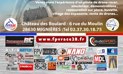 FPV racer 28 - Championnat de Drone Racer à Mignières 2016