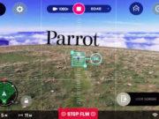 Bebop2 Parrot Follow me gps visual
