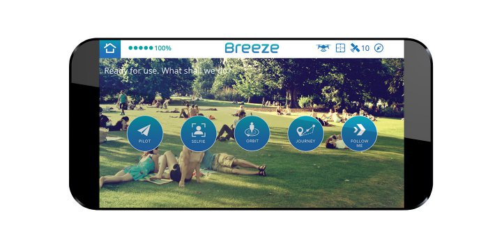 Yuneec Breeze FPV 4K applicaiton android iOs
