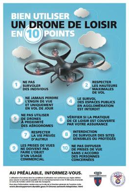 Préfecture de Police -Bien utiliser drone de loisir