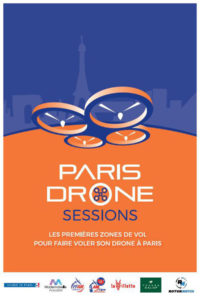 affiche Paris Drone Sessions