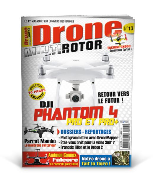 Drone MultiRotor n°13 - Magazine multirotor