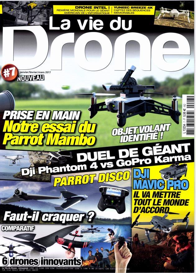 La vie du Drone N°7 décembre 2016