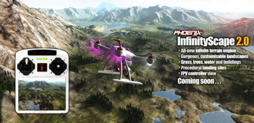 Phoenix sim 5 drone
