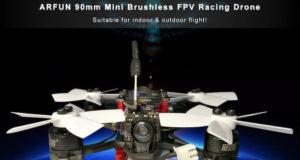 ARFUN 90mm Mini Brushless FPV Racing Drone