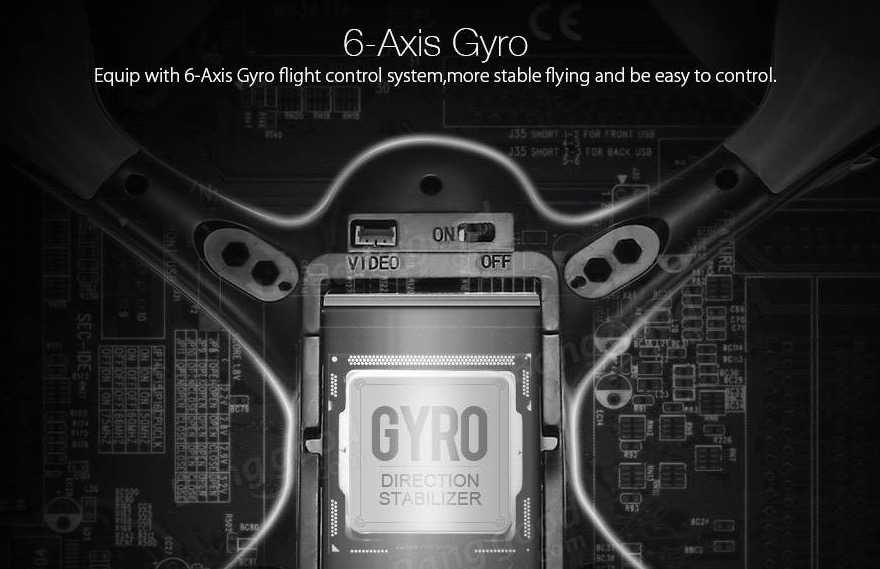 Eachine E33W 6 axes Gyro