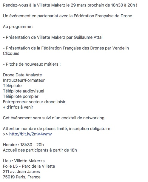 EdFab Meetup programme