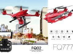 FQ777 FQ02W FPV drone repliable