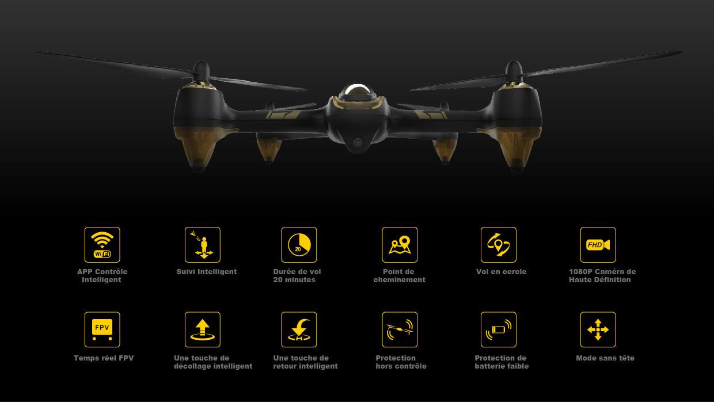 H501A X4 Air Pro drone fpv