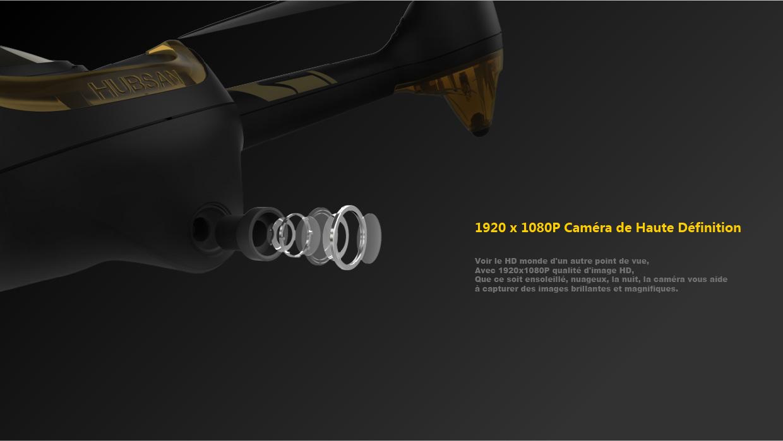 Camera FPV Hubsan H501A X4 Air Pro