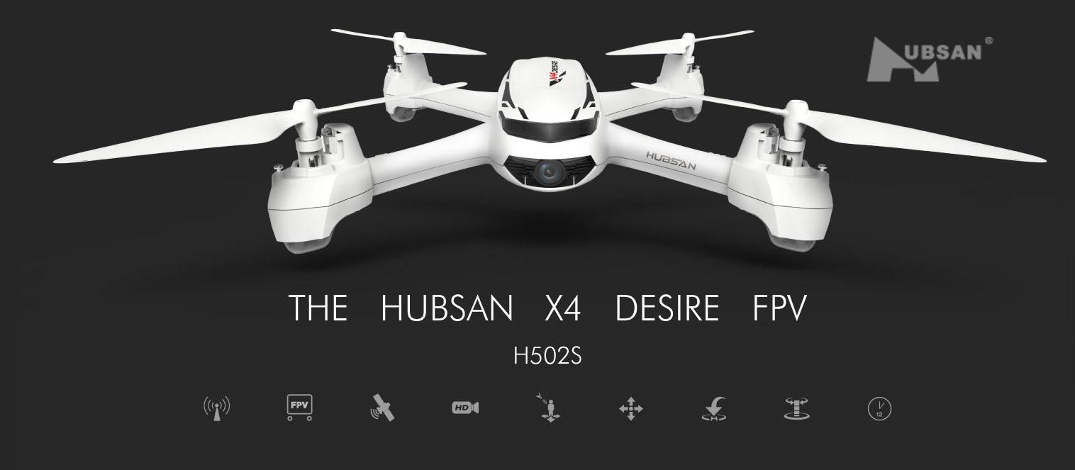 Hubsan X4 Star FPV H502C-noir
