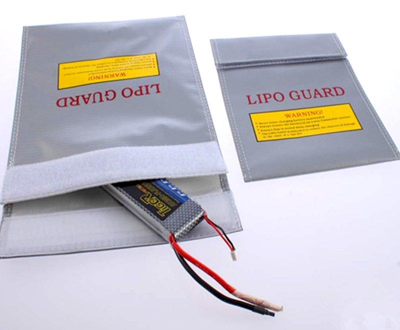 Sac de Protection Anti-feu pour Batterie LiPo pour drones FPV racing.