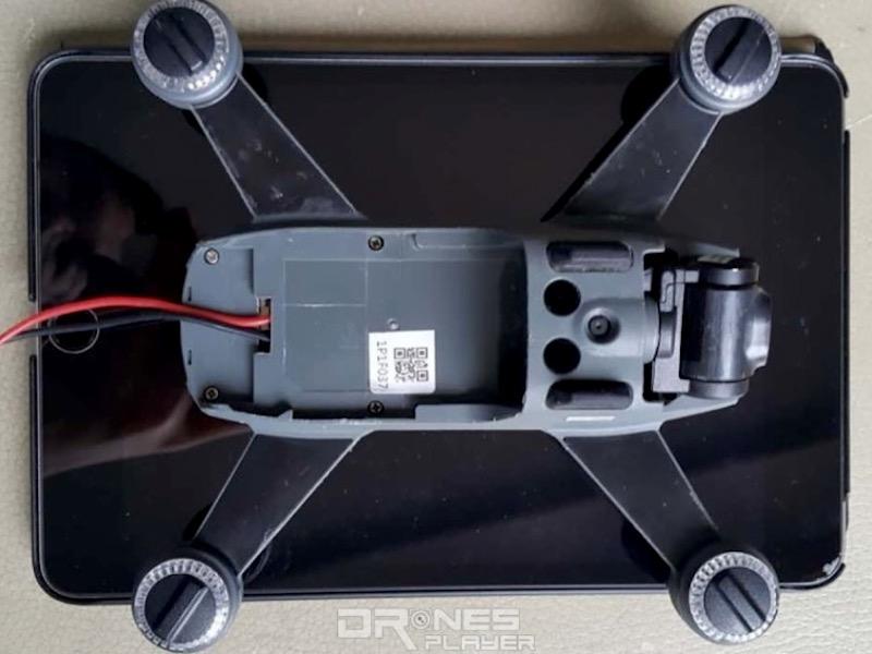 DJI Spark sans batterie