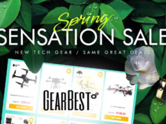 Gearbest drone promotion spring sensation