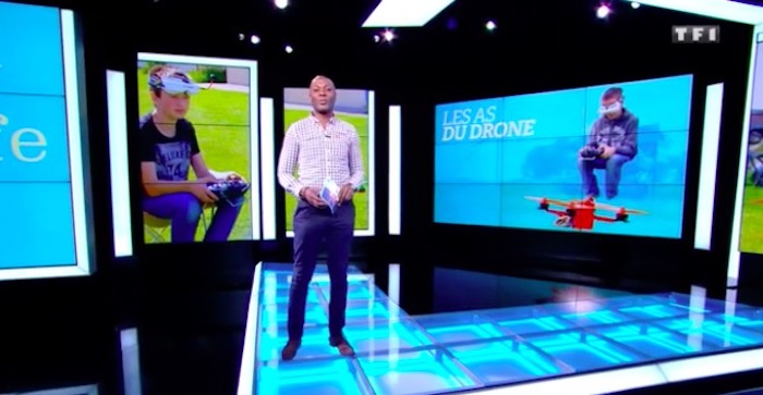 """Reportage Sept à huit Life """"Les as du drone"""""""