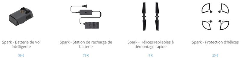 Accessoire spark DJI drone