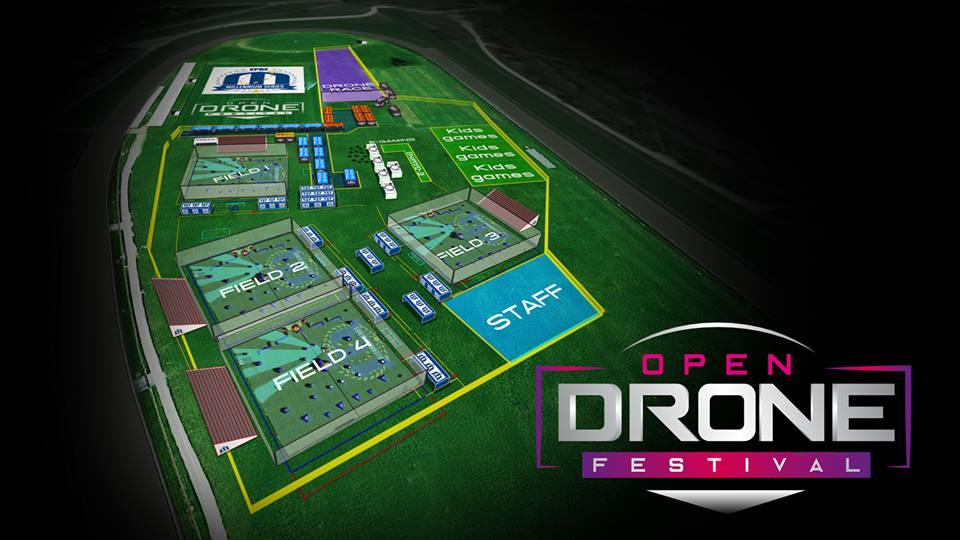 Open Drone Festival plan drone