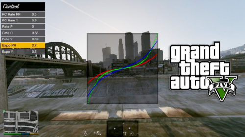 GTA V Simulator Control -Curves rate expo