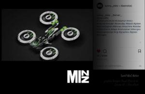 Sunny Minz designer drone futurist