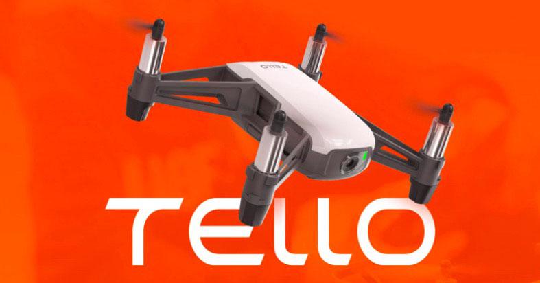 Tello drone DJI Intel