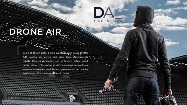 drone Air Paris Paris 9 juin 2017 - Course de FPV Racing