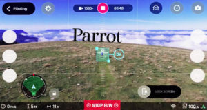 Bebop2 Parrot Follow me gps visual