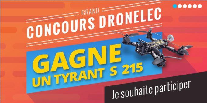 JEU CONCOURS Dronelec - Diatone TyrantS - 215 PNF