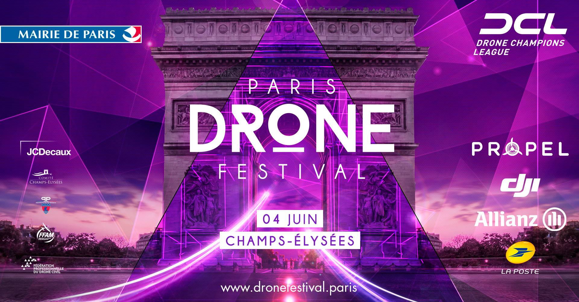 paris drone festival 2017 drone fpv news. Black Bedroom Furniture Sets. Home Design Ideas