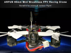 ARFUN 90mm Mini Brushless FPV Racing Drone