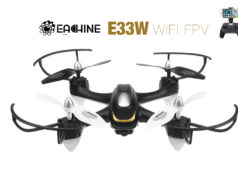 Eachine E33W WiFi Drone FPV avec Camera