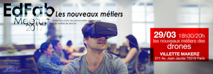 EdFab Meetup Les nouveaux métiers des drones