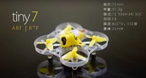 Kingkong Tiny7 Racing Drone Indoor