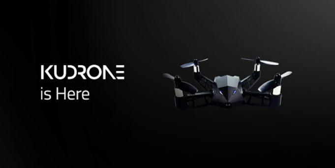kudrone drone 4K selfie