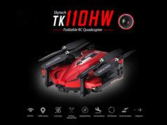 Skytech TK110HW drone repliable FPV repliable pour le voyage