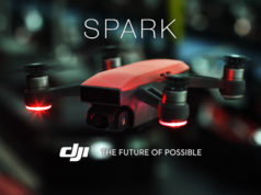 DJI Spark drone 4K FPV Selfie