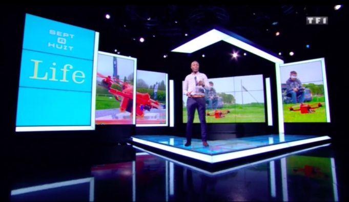 emission documentaire drone fpv racing Sept à huit Life du 21 mai 2017