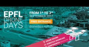 EPFL Drone Days 2017 suisse