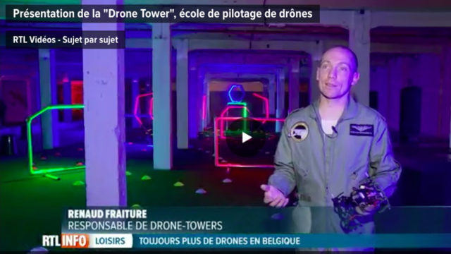 Drone Towers belgique