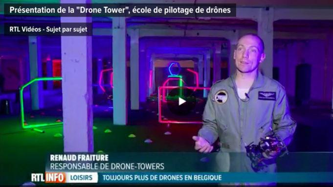 Drone Towers belgique