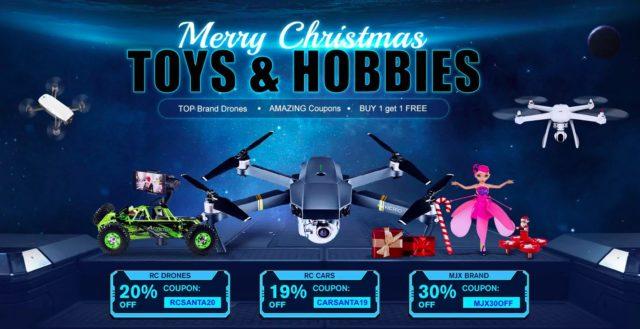 promotion de noel gearbest drone fpv news. Black Bedroom Furniture Sets. Home Design Ideas