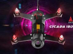 AKK LitisRC Cicada 180 FPV Racing Drone