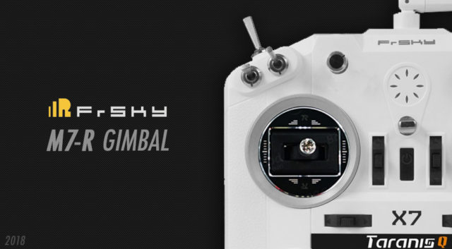 FrSky M7R Gimbal qx7