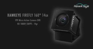 Hawkeye Firefly Micro Camera DVR HD 1080P FPV