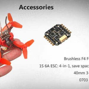 Cute66 66mm Brushless tiny whoop 4