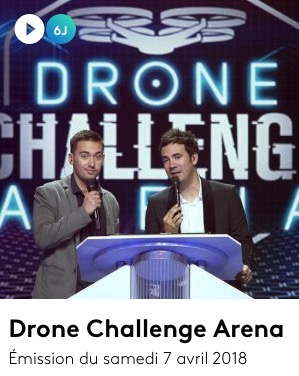 Drone Challenge Arena en replay emission1