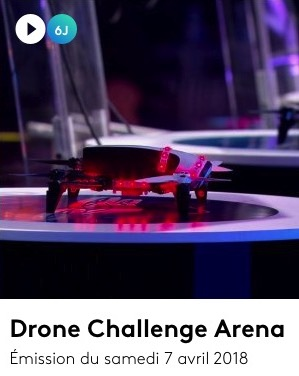 Drone Challenge Arena en replay emission 2