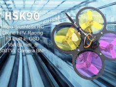 HSK90 90mm Drone FPV Racing mini Brushless