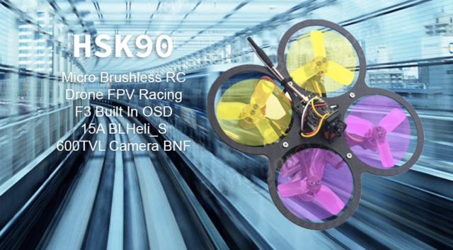 HSK90 90mm Drone FPV Racing mini Brushless