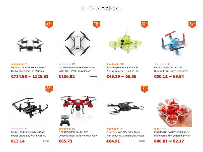 avis drone archos vr