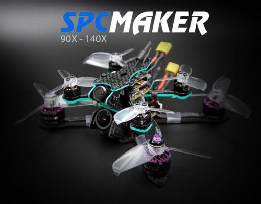 SPC Maker 140X 90X Mini Drone Brushless